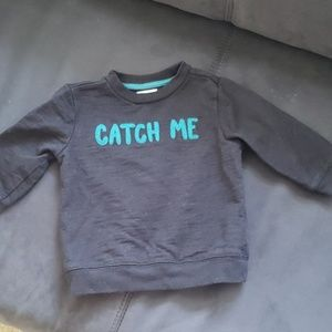 Gymboree Catch Me If You Can Sweatshirt